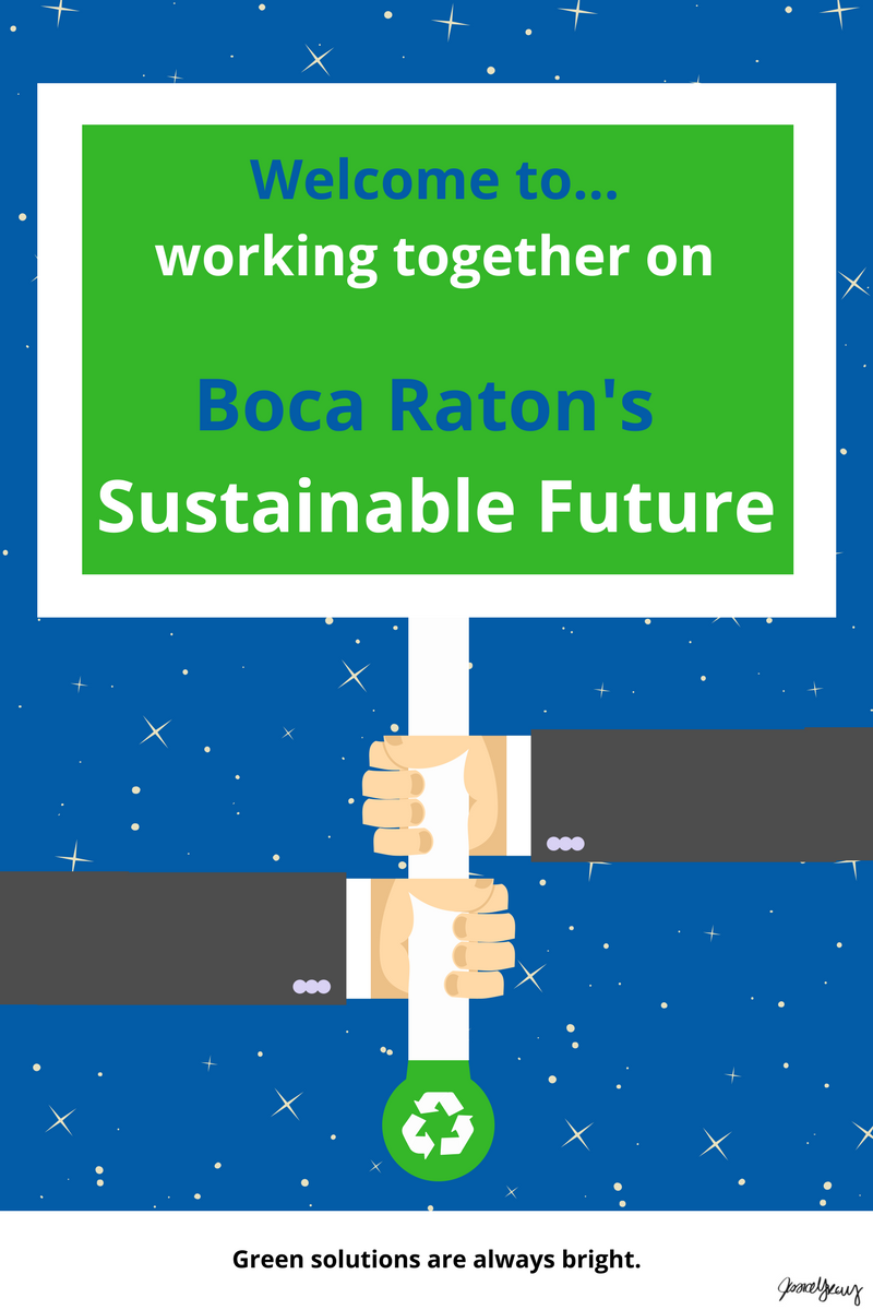 BocaWatch Satire: Boca Raton's Attracting the Millennial Generation….Sustainability!