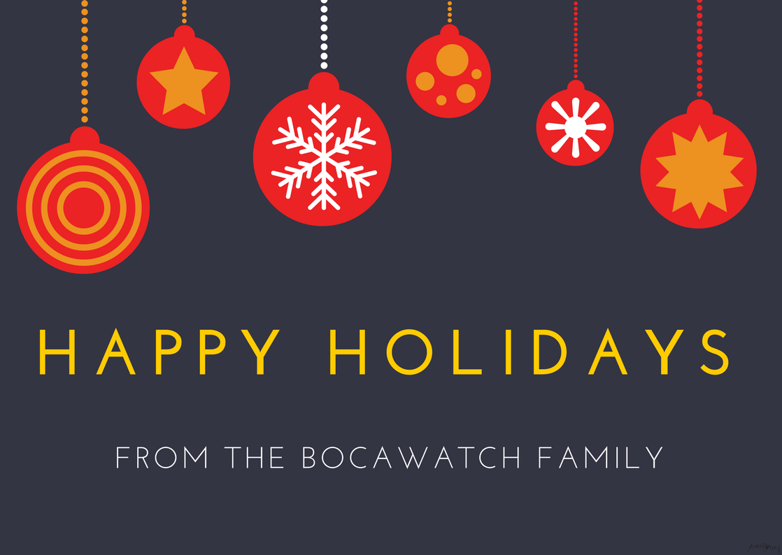 Our Holiday Message to all BocaWatch Readers
