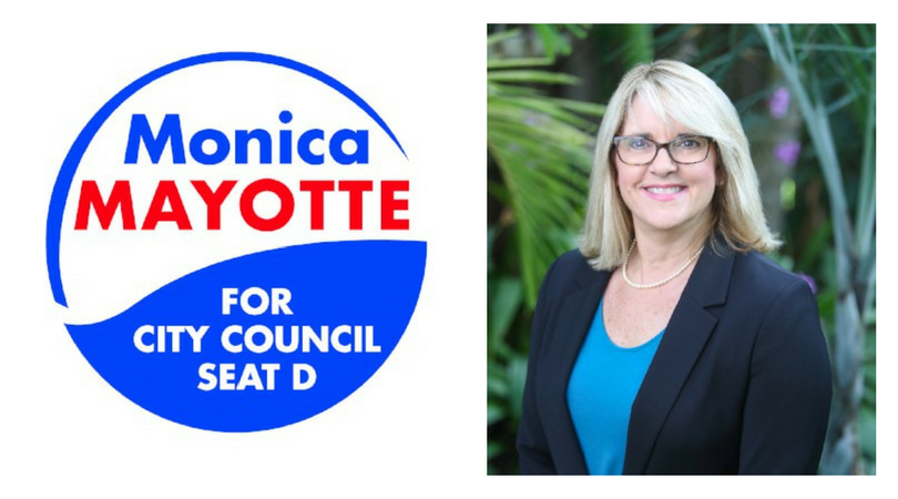 Heartfelt Congratulations to Councilwoman-Elect Monica Mayotte!