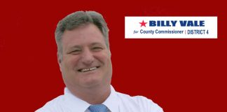 William Vale is running for County Commission