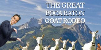 The Great Boca Raton Goat Rodeo 2018
