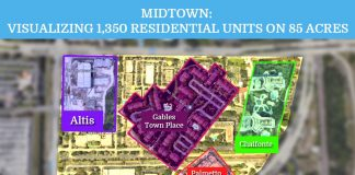 Midtown: How 1350 units can fit into 85 acres