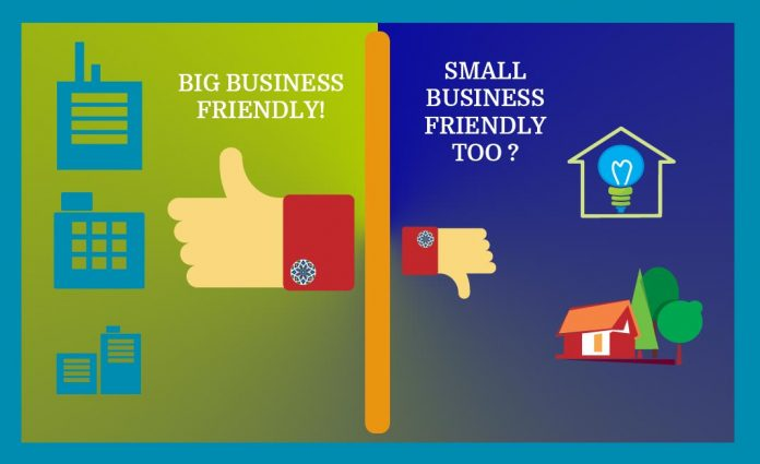 Small Business Friendly