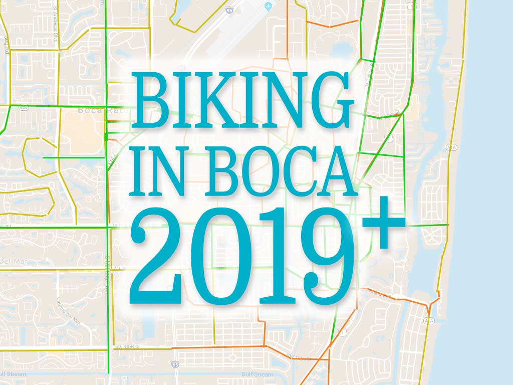 Biking in Boca Raton 2019